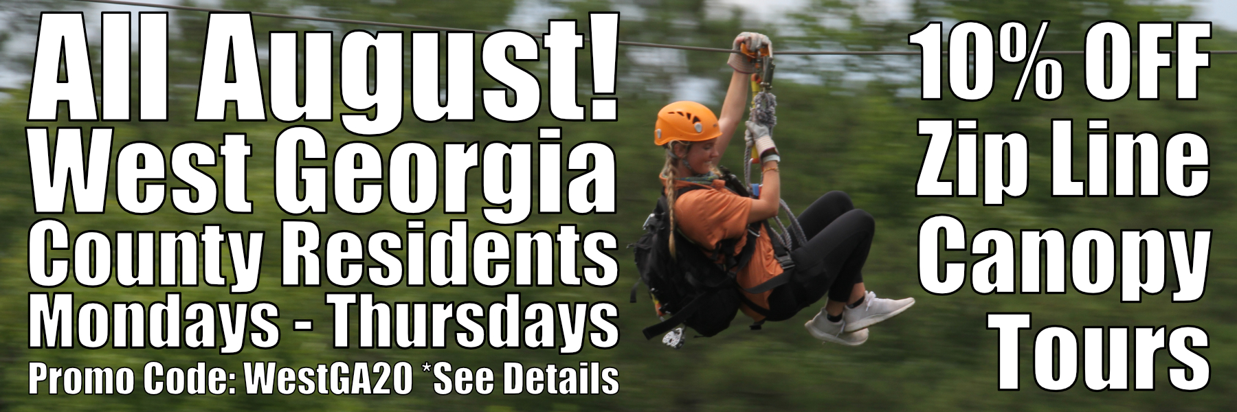 10% Off West GA County Residents